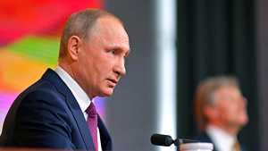 """Vladimir Putinilta yllättävä tunnustus dopingista: """"Sääntöjen rikkomista on tapahtunut"""""""