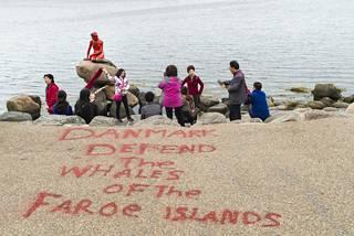 Pieni merenneito joutui vandaalien kohteeksi toukokuun lopussa.