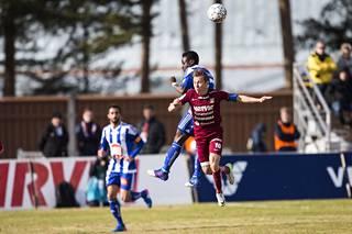 Evans Mensah teki HJK:lle kaksi maalia.