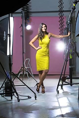 Maryam on poseerannut maailman suurimmissa muotilehdissä.