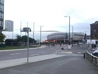 Räjähdys tapahtui myöhään maanantai-iltana Manchester Arenalla.
