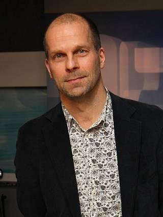 Perjantai-ohjelman tuottaja Pasi Toivonen.
