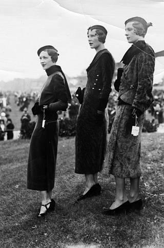 Muotia syyskuussa 1932.