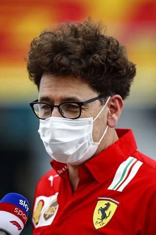 Ferrarin tallipäällikö Mattia Binotto ehdottaa, että kolarin aiheuttajan tulisi maksaa myös vastapuolen viulut.