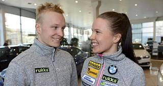 Juho Mikkonen ja Kerttu Niskanen.