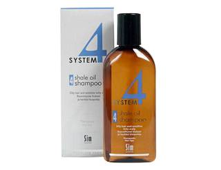 Sim Sensitiven System 4 Shale Oil Shampoo 4, 215 ml, 13,90 €.