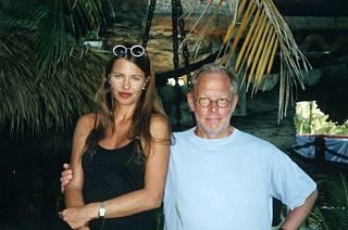 Näin Anu edusti Ristomatin kanssa vuonna 1998.
