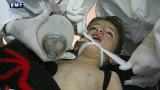 Khan Sheikhouniin tehdyssä kaasuhyökkäyksessä kuolleiden ja loukkaantuneiden joukossa oli runsaasti lapsia.