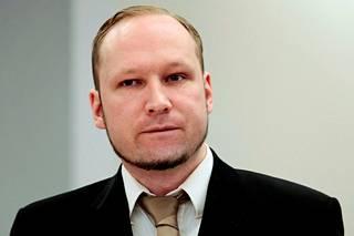 Terroristi Anders Behring Breivik, 42, sai 21 vuoden tuomion.