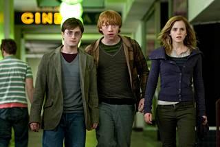 Kolmikko esiintyi kaikissa kahdeksassa Potter-elokuvassa.