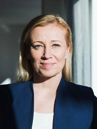 Akavan työmarkkinajohtaja Katarina Murto.