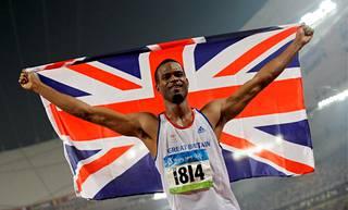 Germaine Mason juhli olympiahopeaa kesällä 2008.