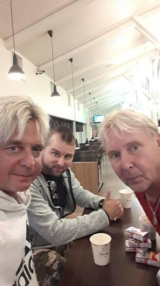 Ystävykset Torniossa toukokuussa 2018.