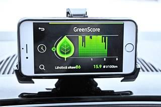 Oman ajamisen taloudellisuuden seuraaminen on vain yksi Move&Fun-kännykkäsovellusten mahdollisuuksista.