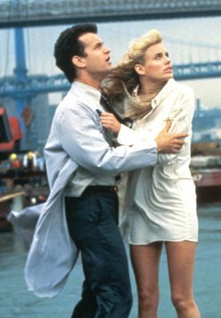 Tom Hanks ja Daryl Hannah elokuvassa Splash.