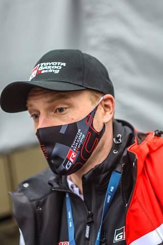 Jari-Matti Latvala debytoi Monte Carlossa Toyotan tallipäällikkönä.
