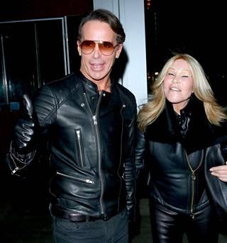 Miesystävä Lloyd Klein ja Jocelyn Wildenstein kuvattuna onnellisempina aikoina.