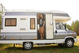 Oma matkailuauto oli Laura Santasen, 34, ja Eugenion, 34, yhteinen haave.