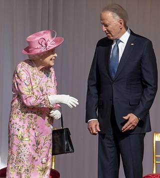 Kuningatar Elisabet tapasi viime viikolla Yhdysvaltojen presidentti Joe Bidenin.