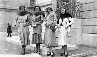 Kevätmuotia 30-luvulla.