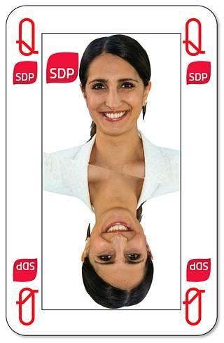 Nasima Razmyar on Sdp:n pormestariehdokas.