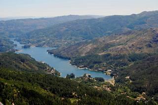 Peneda-Gerêsin kansallispuisto Portugalissa.