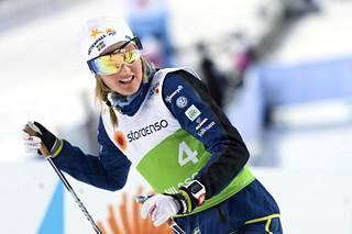 Ruotsin Stina Nilsson on monen papereissa sprinttikisan ykkössuosikki.