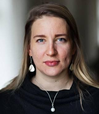 Tutkijatohtori Johanna Vuorelma.