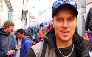 Karl Haarala tapasi Ueli Steckin Himalajalla ja haastatteli tätä.