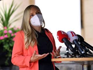 Maria Ohisalo (vihr) nosti suomalaisen maatalouden tikunnokkaan.