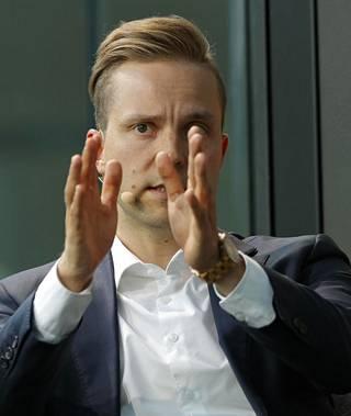 Keskustan varapuheenjohtaja Petri Honkonen.