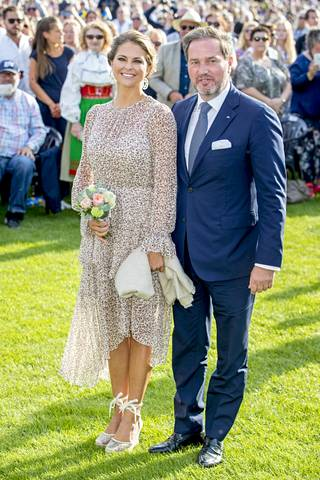 Prinsessa Madeleine ja Chris O'Neill vuonna 2017.