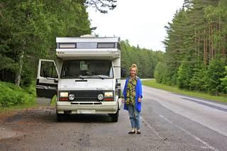 Laura Santanen on spontaani matkustaja.