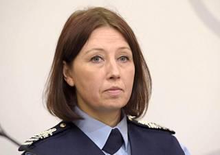 Poliisihallituksen poliisitarkastaja Miia Poutanen.