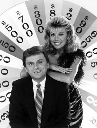 Vanna White ja Pat Sajak kuvattuna 1986.