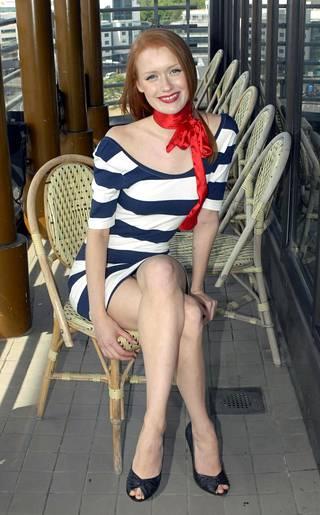 Kuvat Maria Rytkösestä Huippumalli haussa -ohjelmasta vuodelta 2008. Rytkönen oli tuolloin 20-vuotias.