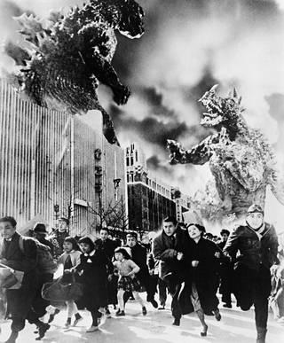 Kaupunkeja parilla askeleella tuhoavasta Godzillasta tuli katastrofielokuvien suunnannäyttäjä.