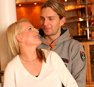 Janne Ahonen ja Tiia