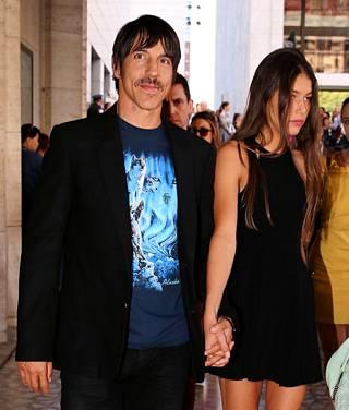 Kiedis kuvattiin yhdessä Helena Vestergaardin kanssa ennen heidän eroaan.