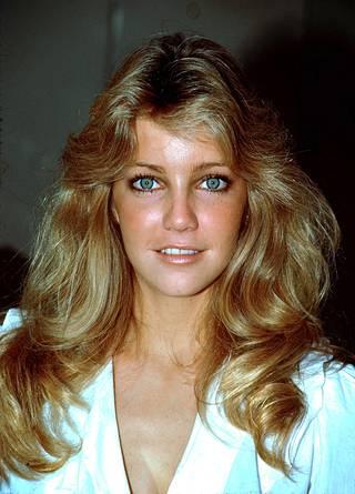 Tämän näköisenä Heather Locklear muistetaan Dynastia-sarjasta. Kuva vuodelta 1985.