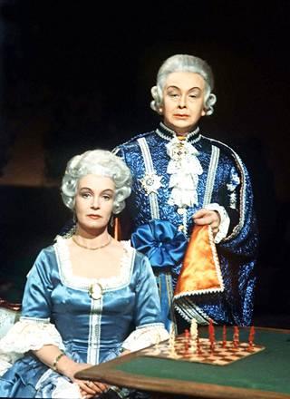 Kustaa III:n roolia pidetään yhtenä näyttelijän nerokkaimmista töistä.