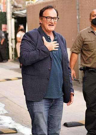 Quentin Tarantino toteaa, että koronapandemia on muuttanut myös elokuvateollisuuden.