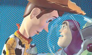 Woody ja Buzz Lightyear.