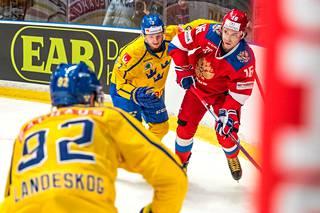 Ruotsin joukkue on vahvoilla.