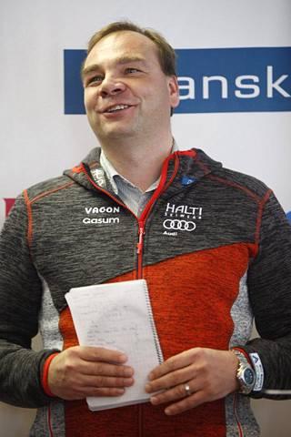 Martti Uusitalo on kuulunut FISin valtuustoon vuodesta 2014 alkaen. Hänet valittiin viime keväänä jatkokaudelle, joka ulottuu vuoteen 2020. Kuva vuodelta 2014.