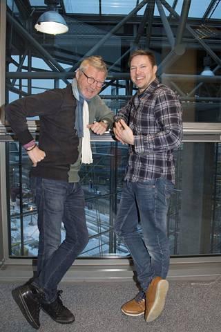 Pirkka-Pekka Petelius ja Juha Perälä ovat erikoisliikemiehiä.