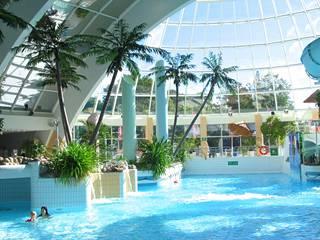 Nokialla sijaitsevassa Rantasipi Edenissä on 1500 m2 kylpyläosasto.