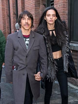 Kuvassa Anthony ja Wanessa New Yorkissa.