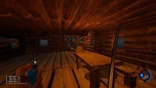 Metsässä selvitäkseen on välttämätöntä rakentaa jonkinlainen suoja, mutta ahkera pelaaja voi halutessaan rakentaa melkoisen hirsilinnan.