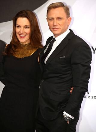Barbara Broccoli ja Daniel Craig Skyfall-elokuvan ensi-illassa vuonna 2012.
